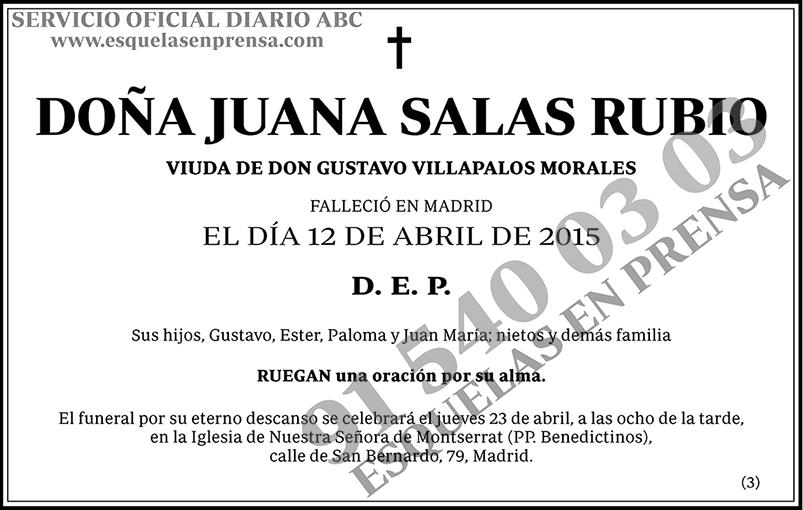 Juana Salas Rubio